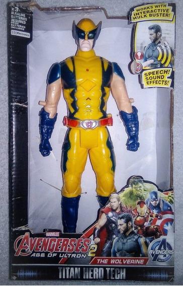 Muñeco Figura Spiderman Luz Y Sonido 30 Cm Super Heroes