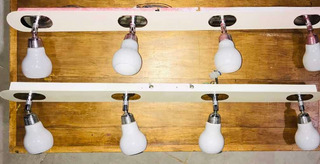 Spot 4 Luces Para Lámpara Bipin G9