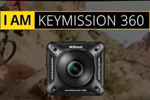Nikon Keymission 360 Impecable