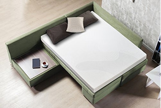 Sofa Cama Sleep Master De Espuma Con Memoria De 5 Espuma Bla