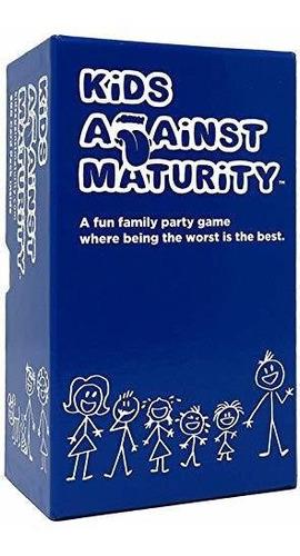 Kids Against Maturity Juego Cartas   Fiestas Familiares