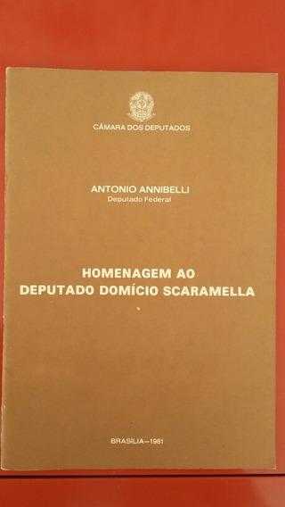 Homenagem Ao Deputado Domício Scaramella