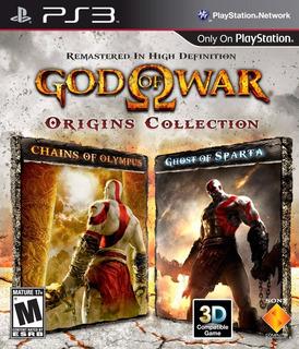 Dios De Las Guerra God Of War Origins Coleccion 3 Juegos X 1