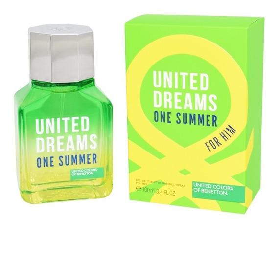 Benetton One Summer Him 100 Ml Eau De Toilette Spray De Bene
