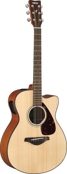 Guitarra Electroacústica Yamaha Fsx800c Natural Nueva Gtia