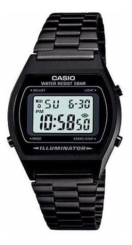 Relógio Casio B640wb Preto Cronômetro Timer Alarme Wr-50 M