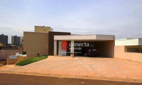 Casa Com 3 Dormitórios À Venda, 287 M² Por R$ 900.000,00 - Condomínio Alto Da Boa Vista - Paulínia/sp - Ca0764