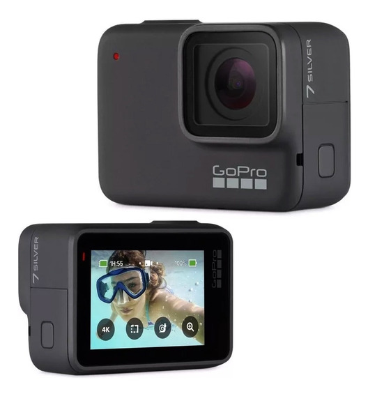 Câmera Go Pro Hero 7 Hd Silver -produto Novo E Lacrado