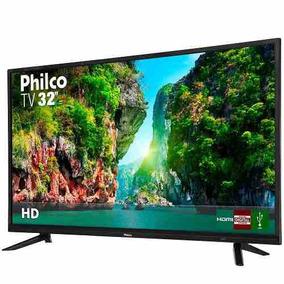 Tv Led 32 Philco Ptv32d12d Hd Com Conversor Digital 1 Usb 2