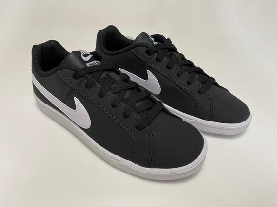 Tênis Nike Court Royale Preto E Branco