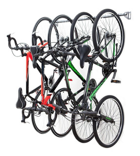 Rack De Almacenamiento Organizador Para 4 Bicicletas