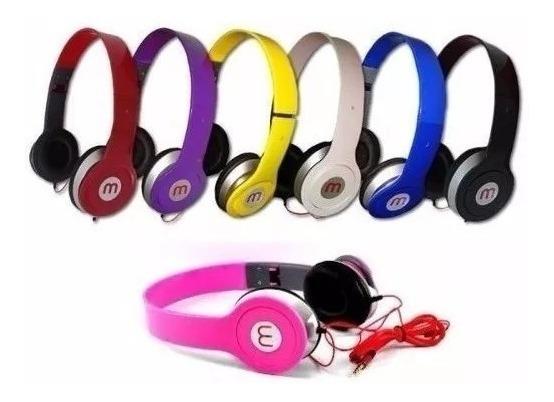 Kit 10 Fone M De Ouvido Potente Headphone Mex Promoção