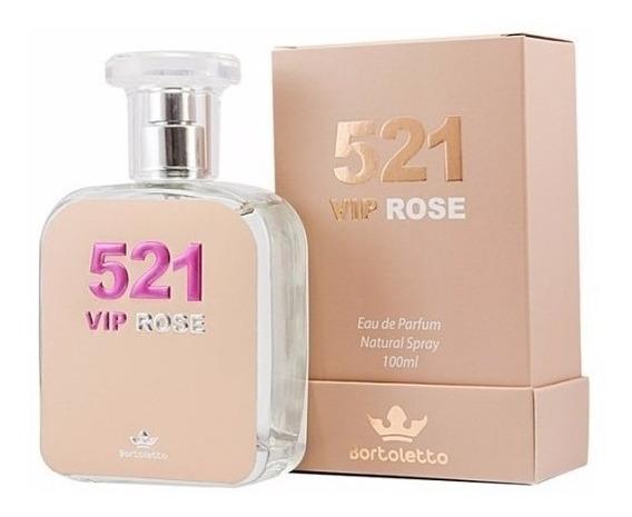 Perfume Bortoletto 521 Vip Rose 100 Ml