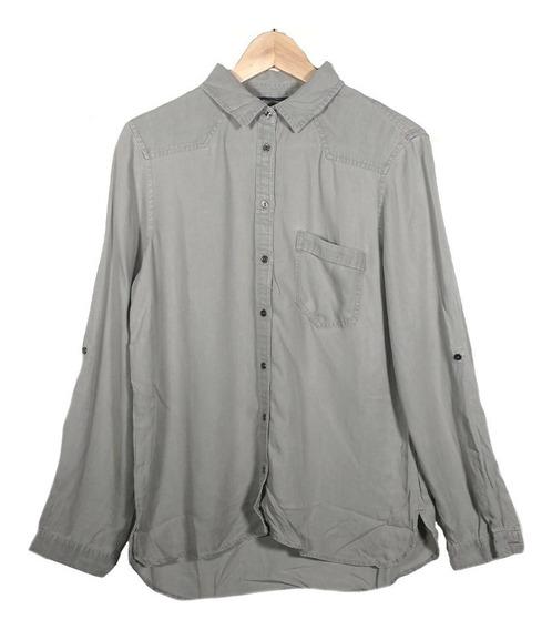 Camisa Mujer Silver Star Gris T. Jean Divina Importada!!!!