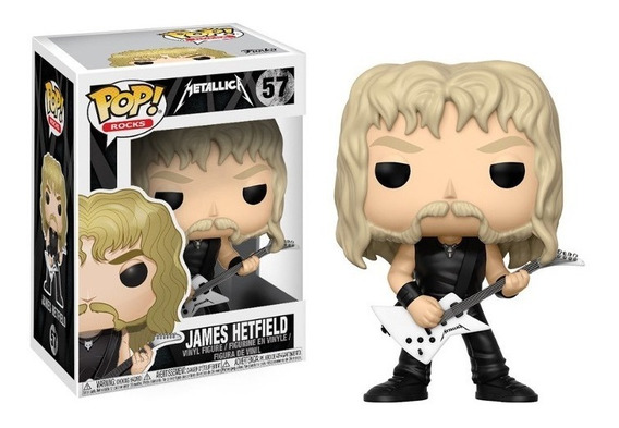 Boneco Funko Pop Metallica - James Hetfield 57