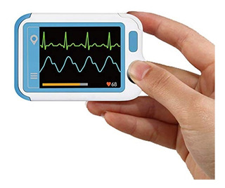 Ecg/ekg Heart Health Tracker, Portable Heart Rate Monitor Wi