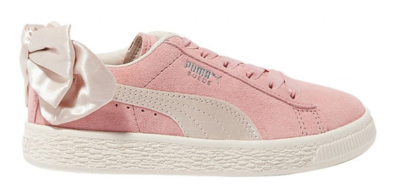 Zapatillas Puma Moda Suede Bow Ac Inf Bebe Rv/be