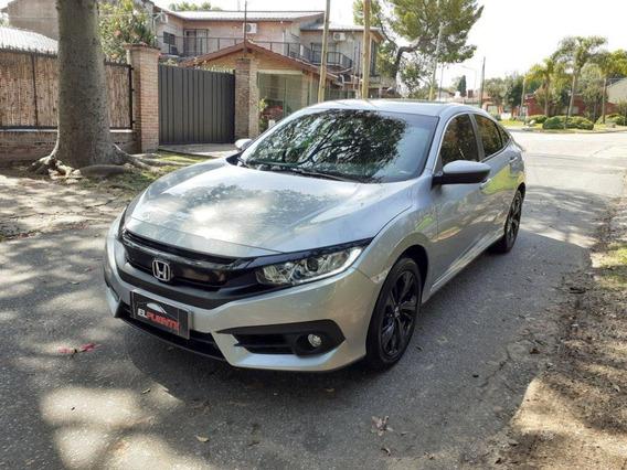 Honda Civic Ex A/t Cuero Navegador Impecable!