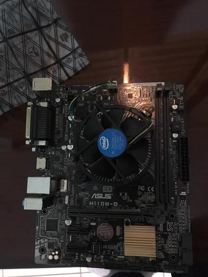 Kit Placa Mãe + Processador G4560 ( 7ª Geração )