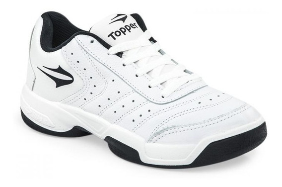 Zapatilla Topper Game Over 3 Cuero Vacuno Talles 38 Al 45