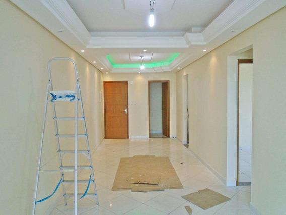 Apartamento Em Maracanã, Praia Grande/sp De 108m² 3 Quartos À Venda Por R$ 590.000,00 - Ap338547