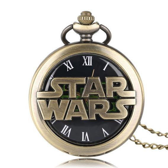 Reloj De Bolsillo De Star Wars Guerra De Las Galaxias