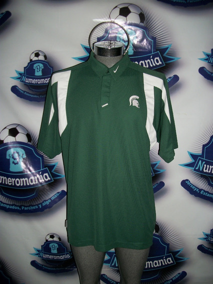 Playera Polo Original Nike Ncaa Espartanos Michigan State