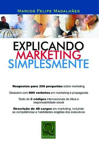 Livro Explicando Marketing