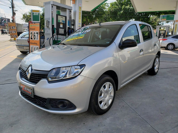 Renault Sandero 2018 Completo 1.0 Flex 3 Cil 20.000 Km
