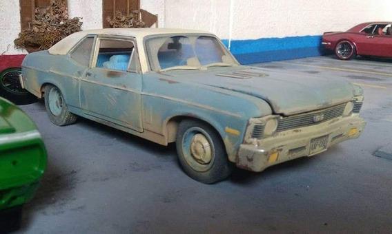 Chevrolet Nova Como El De Policía Suelto En Hollywood 1/18