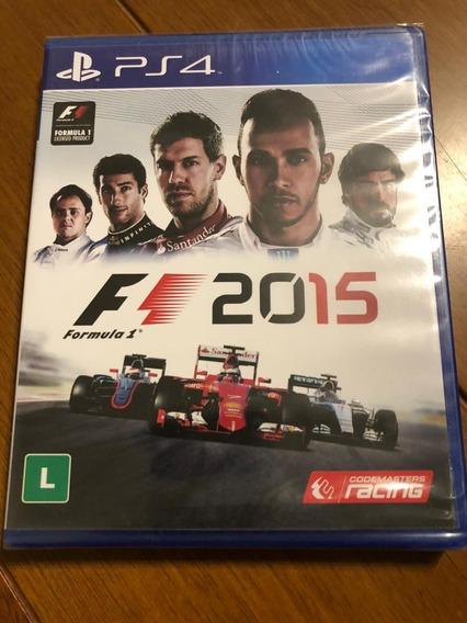 F1 2015 Ps4 Midia Fisica
