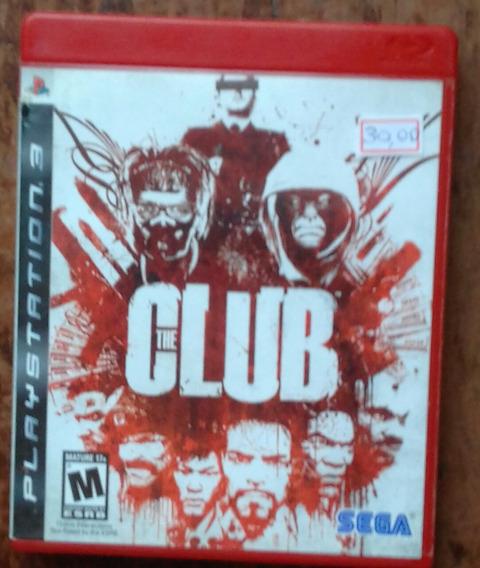 Jogo The Club Em Mídia Física Para Playstation 3