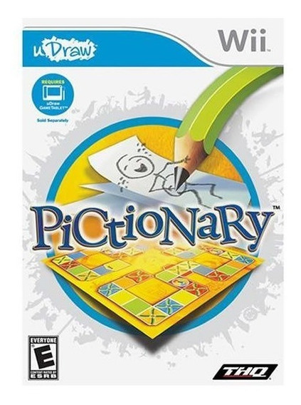 Udraw Pictionary - Wii / Lacrado / Mídia Física / Original