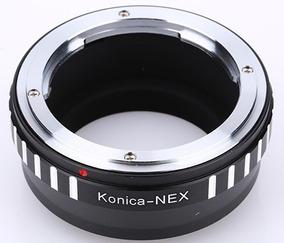 Anel Adaptador Lente Konica Ar-nex Sony Nex-7 6 5 3 C3 F3 5r