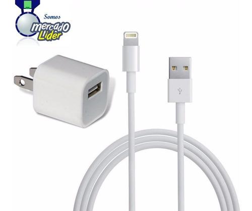 Original Cargador Cubo iPhone 8 Plus Lightning Apple Cable