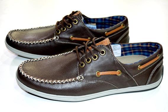 Zapato Dunlop Cuero Cool Walker Hombre Original Marron
