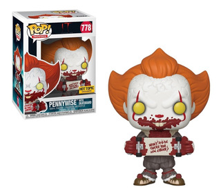 Funko Pop! It - Pennywise With Skateboard (hot Topic)