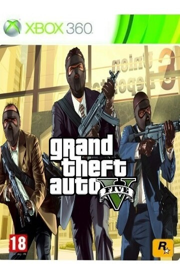Gta-v Xbox Mídia De Digital