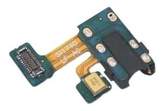 Flex Conector Fone P2 Microfone Samsung Galaxy J4 J400