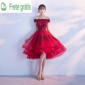Vestido Damas Curto 7504 Festa De 15 Anos Damas Noivas Forma