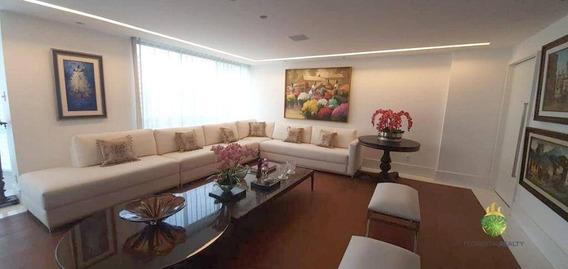 Apartamento Com 4 Dormitórios À Venda, 260 M² Por R$ 1.700.000,00 - Graça - Salvador/ba - Ap0822