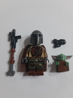 The Mandalorian & Baby Yoda Star Wars Tipo Lego