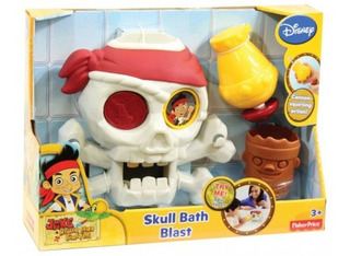 Jake El Pirata Calavera Lanza Agua Fisher Price Bunny Toys