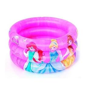 Piscina Infantil 38 Litros Disney Princesas + 50 Bolinhas!