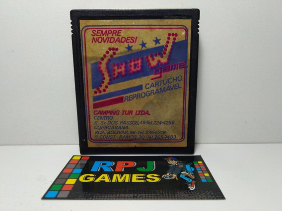 Pacman Original Show Game P/ Atari - Loja Centro Rj - &&