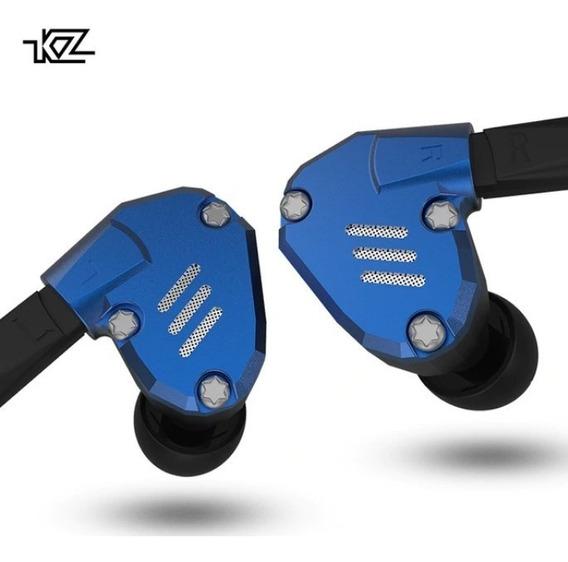Fone Kz Zs07 Zs7 + Case Kz - C/mic