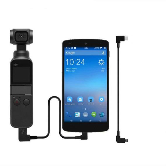Cabo Transf. Da Dados Conexão Usb-c Android Dji Osmo Pocket