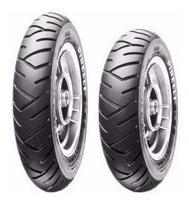 Par Pneu Pirelli 90/90-12 + 100/90-10 Sl26 Honda Lead
