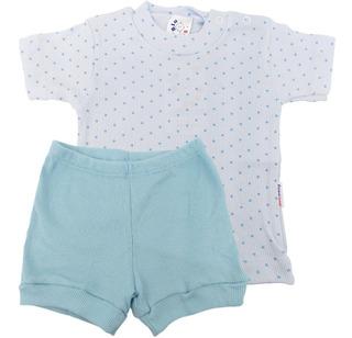 Roupa Bebê Menino Menina Unissex Conjunto Camiseta E Shorts