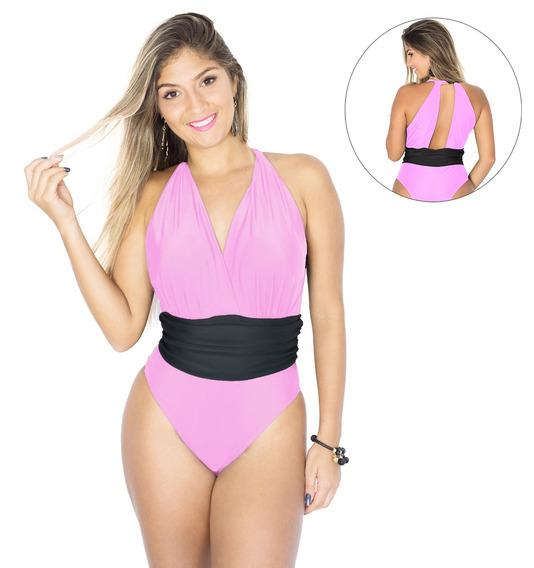 Body/ Maiô Amo Verão Modelo Faixa Várias Cores Moda Praia